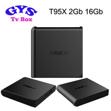 T95x Amlogic s905x 2g 8g android quad core TV box download mp4 Full H D movies download