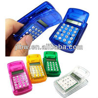 Gift Mini Pocket Plastic Clip Calculator