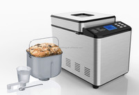 stainless steel bread dough maker with 19 digital programs automatic bread machine bread making machine bm 8201