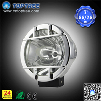 7'' 9'' 55w 75w Offroad 4X4 HID Spotlight,Auto HID Conversion Kit Car HID Light HID lamp