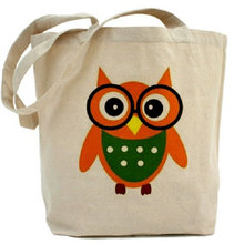 Shenzhen wholesale Promotinal customized sizecotton canvas tote bag