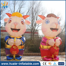 Cartoon character inflatable model , inflatable figure for adversiting
