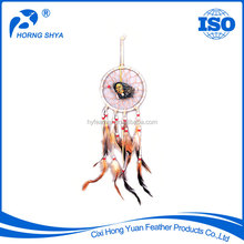 Trading Wholesale Wall Hanging Decoration Handmade Customized Dreamcatcher Feather