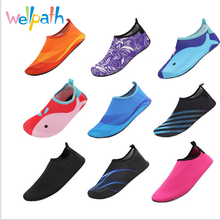 Cartoon Quick Drying Swim Water Shoes Mutifuctional Barefoot Light Weight Aqua Socks For Beach Pool