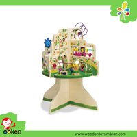Montessori Toy Tree Top Activity Center for Kids