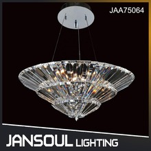 JANSOUL modern led contemporary crystal chandelier hotel pendant lamp crystal lighting