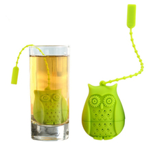 Amazon hot selling 2017 silicone tea infuser leaf filter