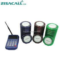 Wireless waiter calling system vibrating pagers restaurant table buzzer