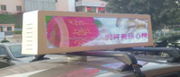 Advertising led taxi top sign / taxi roof top taxi