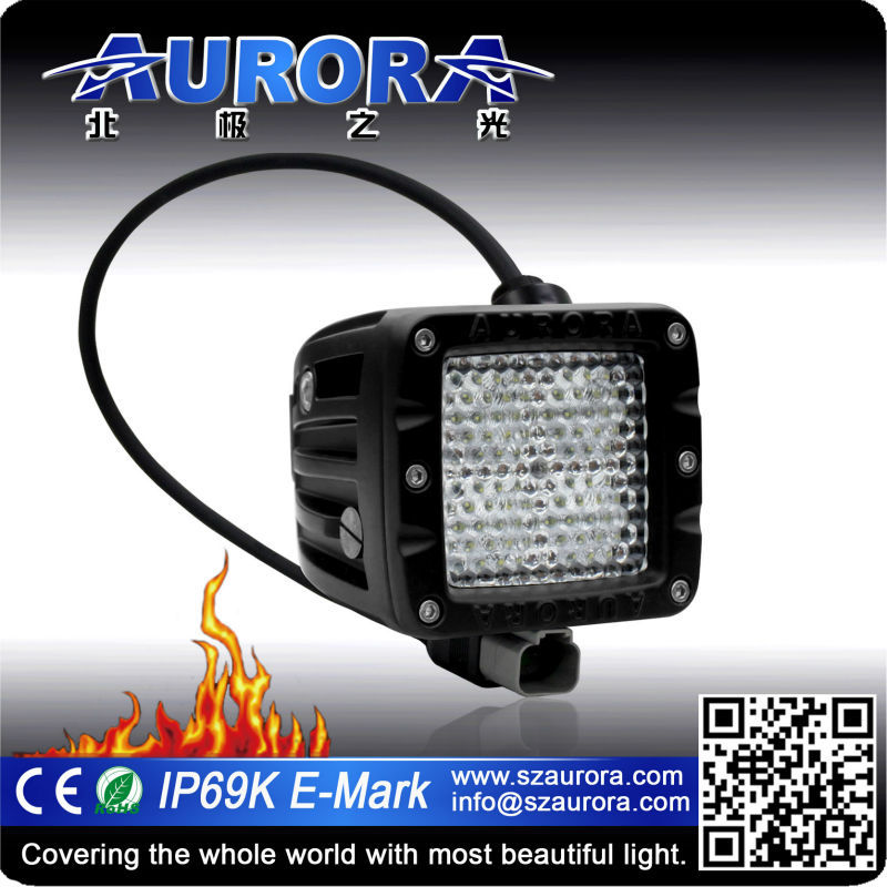 jeep 10w 4x4 power accessories 2 inch driving light