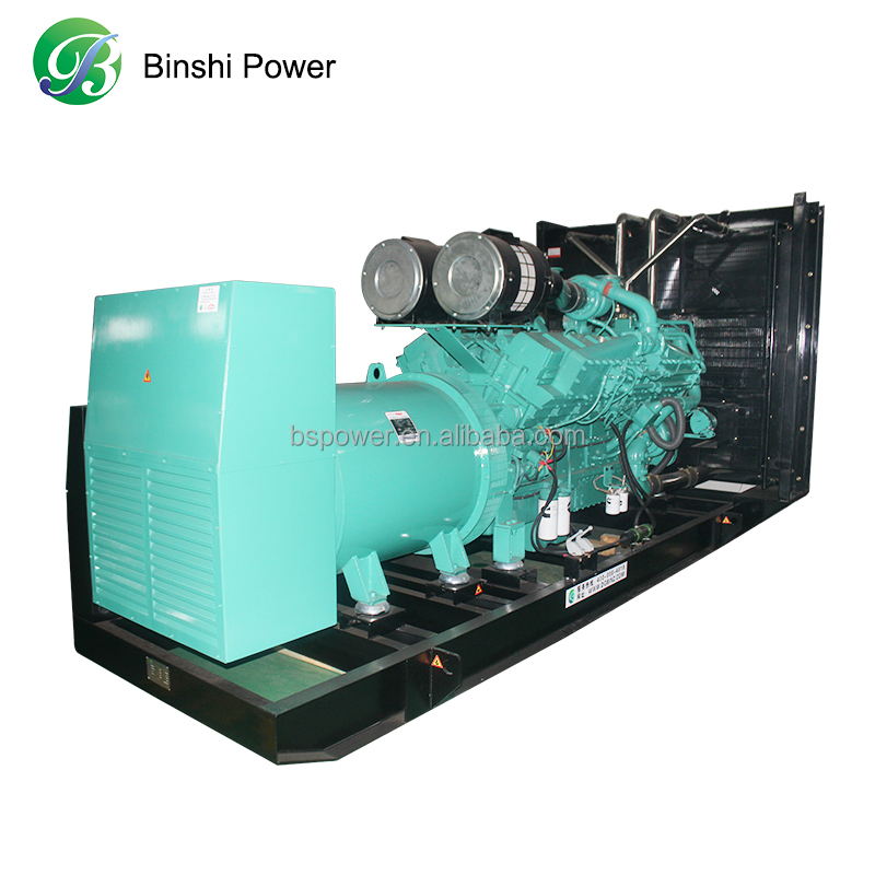 160KW Continus Power China Natural/LPG/Biogas Electric Gas Generator Prices