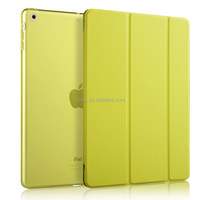 pu material magnetic smart cover for apple ipad air , Luxury Slim For Pu ipad air