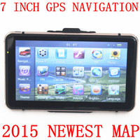 "2015 hottest 7"" 7 inch car gps navigation 84h-3 windows ce6.0 mstar ddr128m 4gb 800mhz fm free europe gps map"