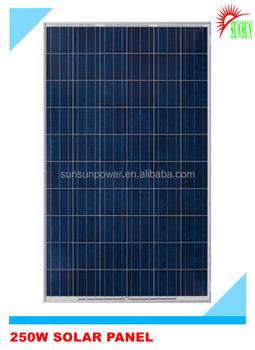 250w Monocrystalline Solar Panel Low Price For India Buy