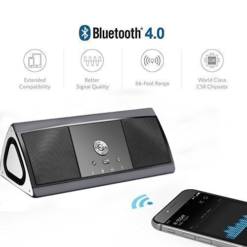 <strong>K1</strong> Portable Bluetooth Speaker with Subwoofer Bass Boost , True Wireless speaker