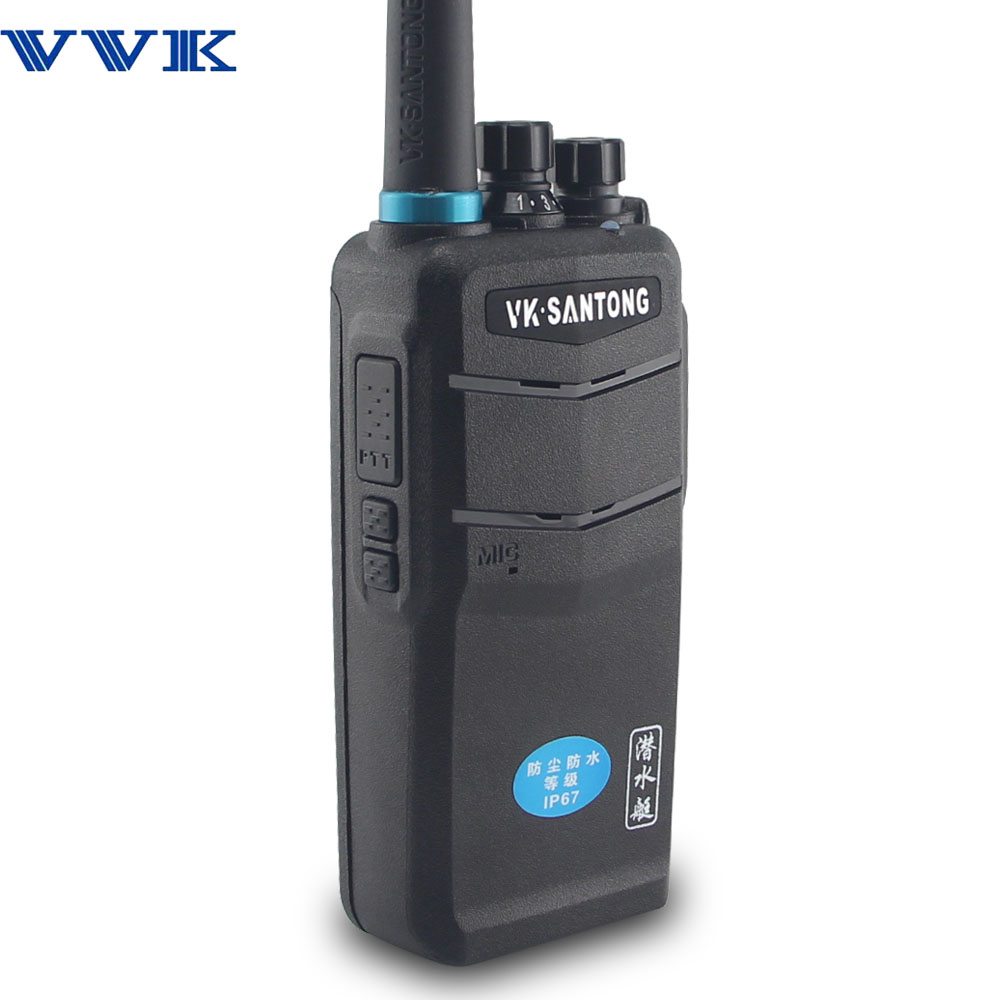 VK-1000 Water-proof IP57 walkie talkie for 2 way radio