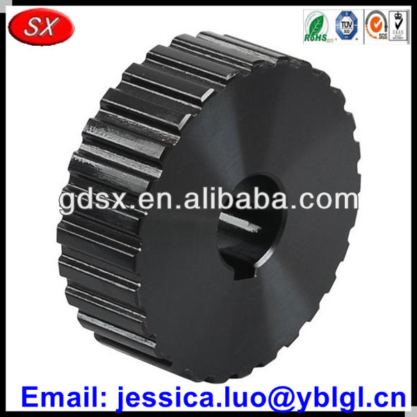 high precise made in China black anodized aluminum gear synchronizer,transmission synchronizer ring gear