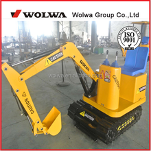 kids mini excavator electric digger for children
