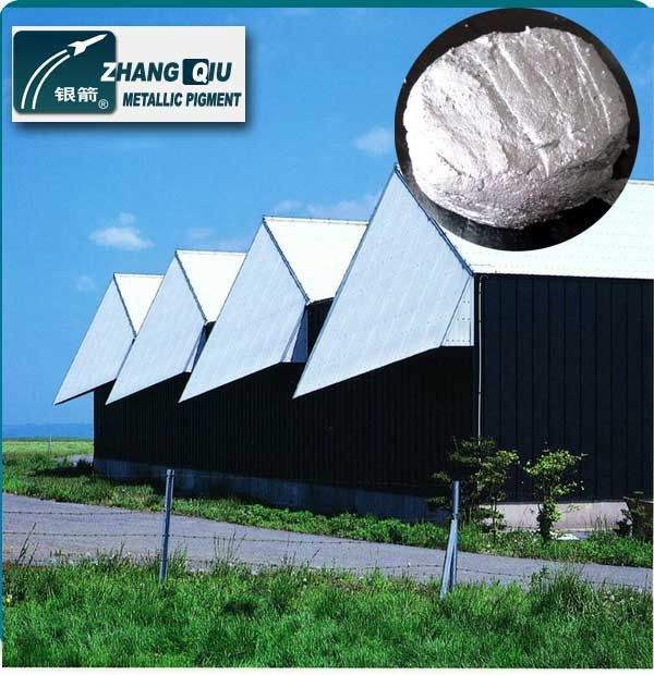 anti-corrosion excellent leafing aluminum paste for roof and pipe coatings