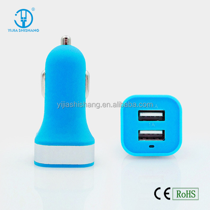 Gift Logo Products Power Bank Car Charger 3.1A Dual Ports Micro USB Car Charger For Samsung/Iphones