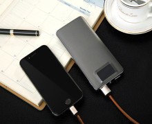 Polymer Battery trending products 9000mah new power bank with nice packaging