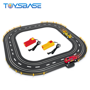 Jiada Slot Car 1:64 Racing Sets Plastic Toy Car Track