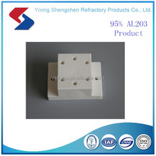 Customized alumina ceramic support