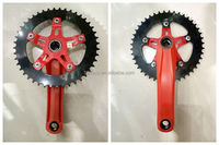City cheap bicycle one piece crank,Bike Chainwheel/Hot Sell Alloy Forged Adoized Road Bike Chainwheel Crank