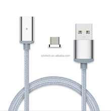 Highly praised multi nylon braided magnetic usb data charging cable for android