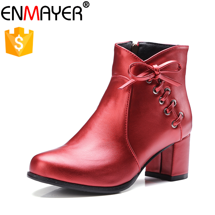 2017 new fashion lady ankle boots comfort low heel cheap women ankle boots