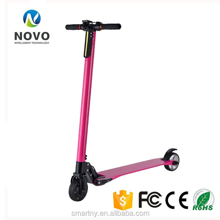 Hot Selling Mini 5 Inch Carbon Fiber Foldable 2 Two Wheel Electric Scooter