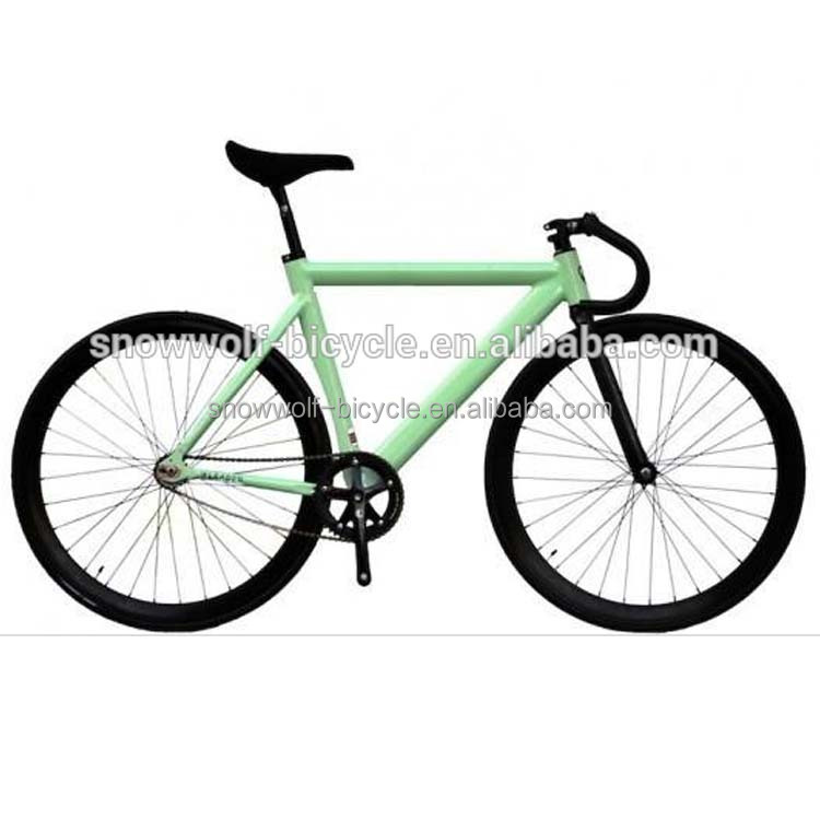 Made In China New Design 26 Inch steel Frame Fixed Gear Bike
