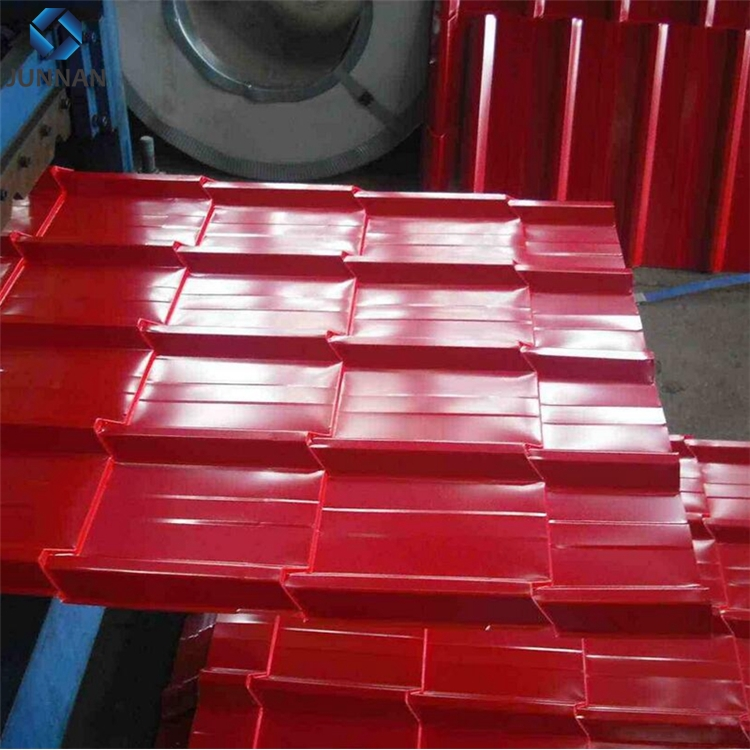 GI color coated corrugated roofing steel sheets for shed