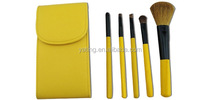 makeup brush set, personalized makeup brush set with handle