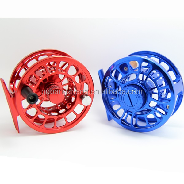 CNC machined quality 6061 aluminum chinese fly fishing reel