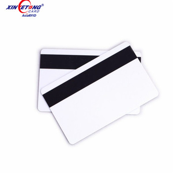 Magnetic stripe card Fudan F08 ic chip plastic pvc printing card with data encoding