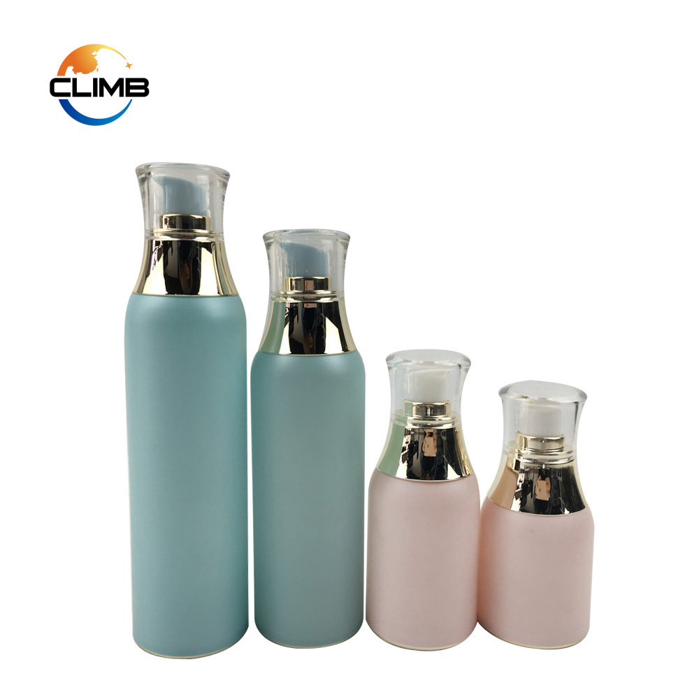 30ml 50ml Airless Plastic Pump Lotion Bottle airless acrylic cosmetic bottle