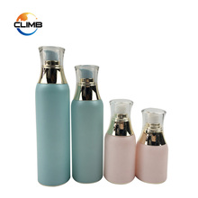 30ml 50ml Airless Plastic Pump Lotion Bottle airless acrylic cosmetic jars and bottles
