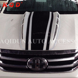 New arrival body kits abs hood bonnet scoop cover 4x4 accessories for toyota hilux revo
