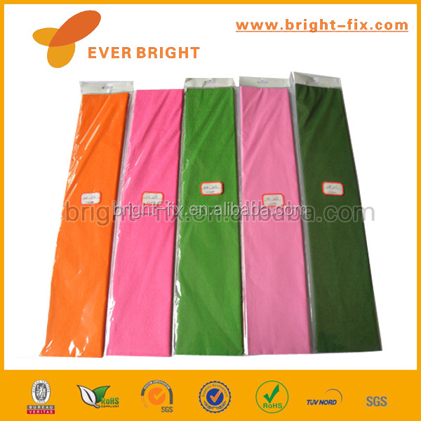 China super quality metallic wrap crepe <strong>paper</strong>