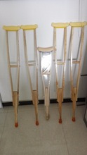 Kinds Of Underarm Wooden Underarm Crutch Rubber Feet