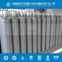 TPED Certification Industrial Oxygen Cylinder Sizes Weight of Oxygen Cylinder