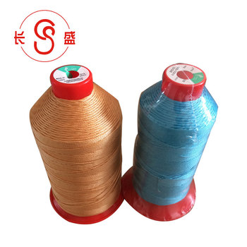 High tenacity waxed 100% polyester braided cheap sewing thread