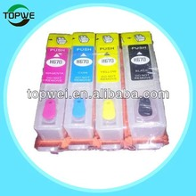 bulk refillable ink cartridge for HP 3525 printer with chip