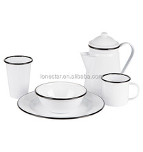 Newest Product Enamel non-stick cast iron cookware sets,enamelware cookware set,enamelware set
