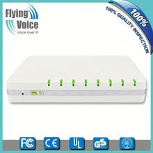 Flyingvoice 4 FXS ports Voip gsm phone adapter with TR-069 support G504 for small business
