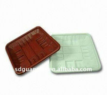 Colored PP disposable colored pp food tray