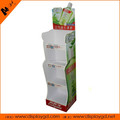 Light duty PVC/acrylic single side with 4 floors display stand