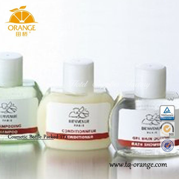 wholesale hotel shampoo bottle & comestic hotel disposable bottle shower gel