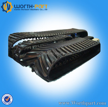 agriculture vehicle rubber crawler,rubber track